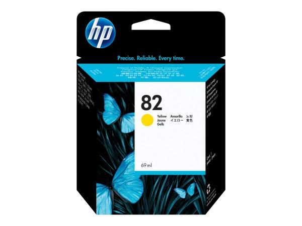 HP 82 - 69 ml - Dye-Based Yellow - Original - Tintenpatrone