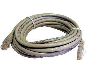 Goobay Patch-Kabel Cat6 1.0m grau S/FTP - Kabel - Netzwerk