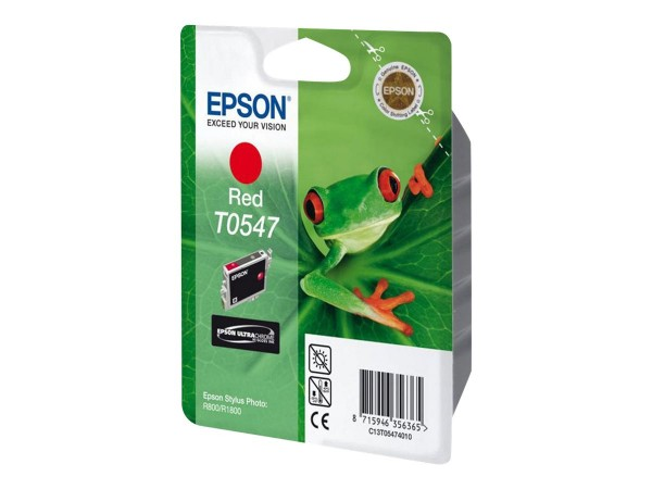 Epson T0547 - 13 ml - Rot - Original - Blisterverpackung