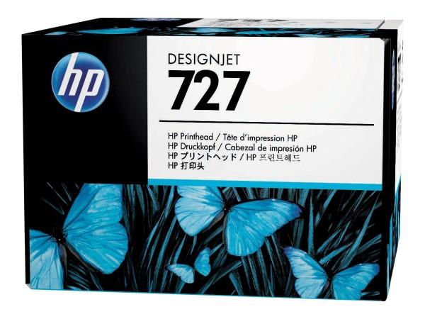HP 727 - Grau, Gelb, Cyan, Magenta, mattschwarz, Photo schwarz