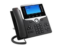 Cisco IP Phone 8841 - VoIP-Telefon - SIP, RTCP, RTP, SRTP, SDP