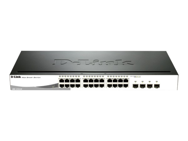 D-Link Web Smart DGS-1210-24 - Switch - managed