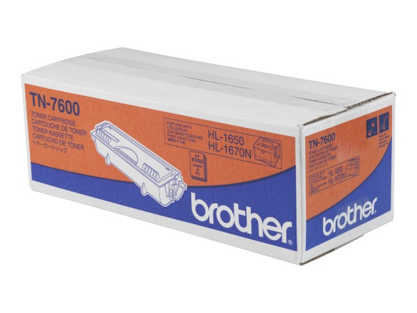 Brother TN-7600 - Schwarz - Original - Tonerpatrone