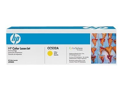 HP 304A - Gelb - Original - LaserJet - Tonerpatrone (CC532A)