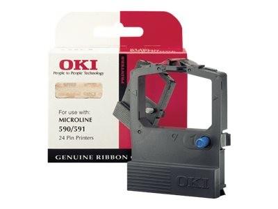 OKI 1 - Schwarz - Farbband - für Microline 590