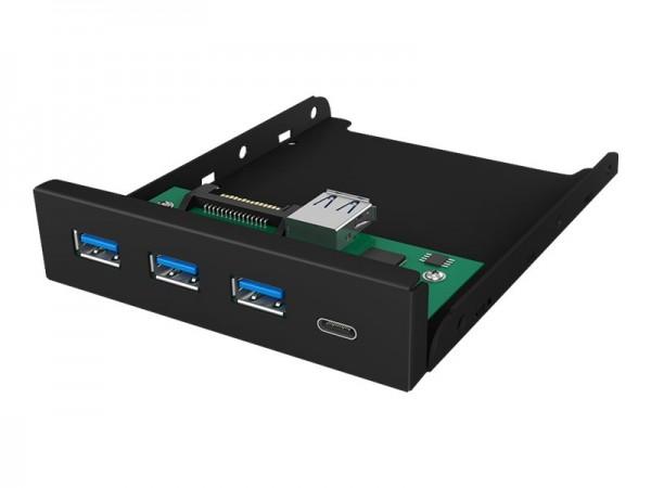 ICY BOX ICY BOX IB-HUB1418-i3 - Hub - 3 x SuperSpeed USB 3.0 + 1 x USB-C