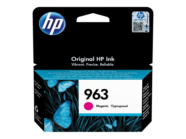 HP 963 - 10.77 ml - Magenta - Original - Tintenpatrone