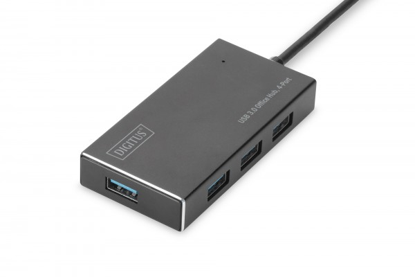 DIGITUS USB 3.0 Office Hub, 4-Port