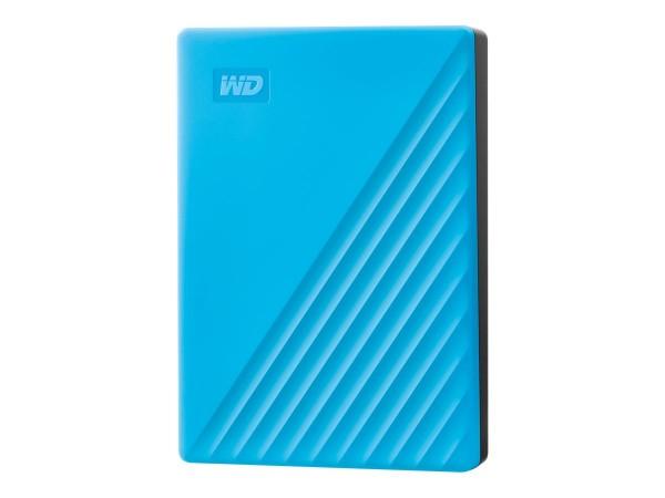 WD My Passport WDBPKJ0040BBL - Festplatte - verschlüsselt - 4 TB - extern (tragbar)