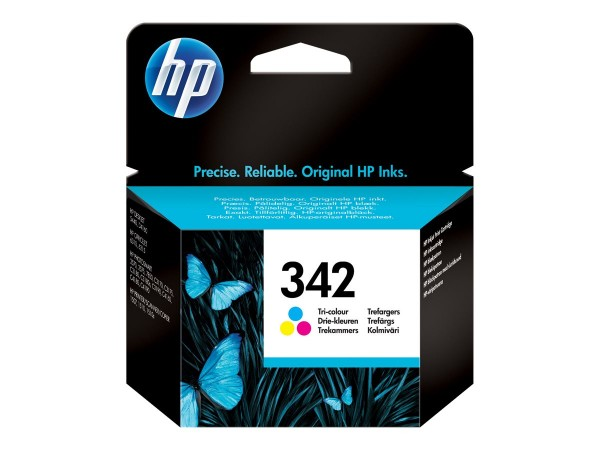 HP 342 - 5 ml - Farbe (Cyan, Magenta, Gelb) - Original