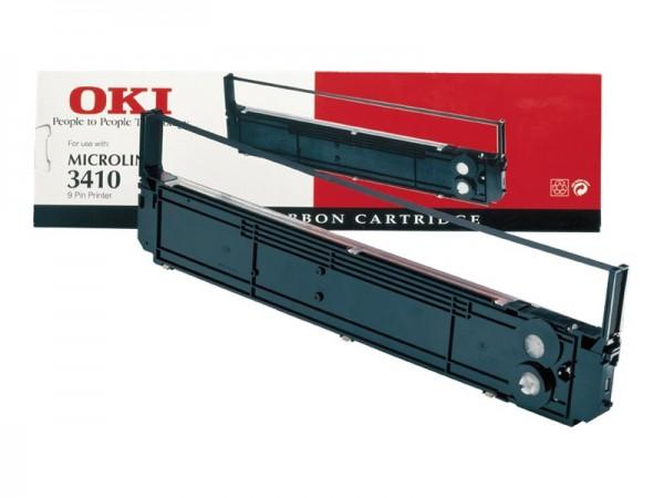 OKI 1 - Schwarz - Farbband - für Microline