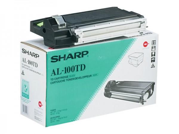 Sharp AL-100TD - Schwarz - Original - Tonerpatrone