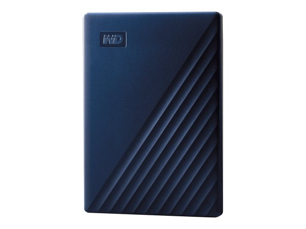 WD My Passport for Mac WDBA2D0020BBL - Festplatte - verschlüsselt - 2 TB - extern (tragbar)