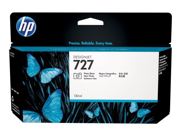 HP 727 - 130 ml - Photo Black auf Farbstoffbasis