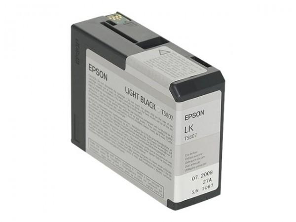 Epson T5807 - Druckerpatrone - 1 x hellschwarz