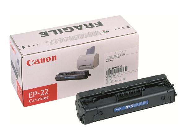 Canon EP-22 - Schwarz - Original - Tonerpatrone