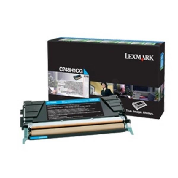 Lexmark Cyan - Original - Tonerpatrone Lexmark Corporate