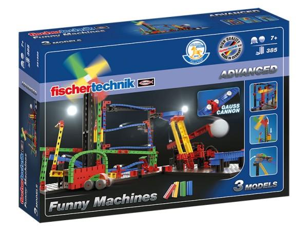 fischertechnik ADVANCED Funny Machines - Bausatz - Mehrfarbig - Junge/Mädchen - 7 Jahr(e) - 385 Stüc