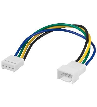 Goobay Stromkabel intern PC Lüfter - Kabel - Strom/Netzteil