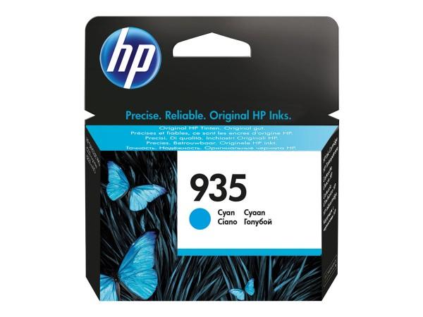 HP 935 - Cyan - Original - Tintenpatrone - für Officejet 6812, 6815, 6820