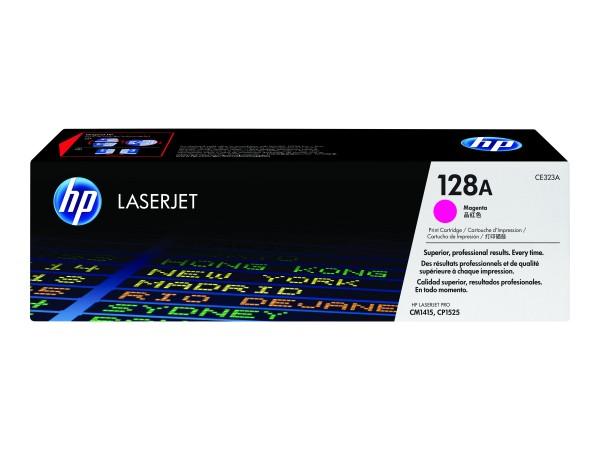 HP 128A - Magenta - Original - LaserJet - Tonerpatrone (CE323A)