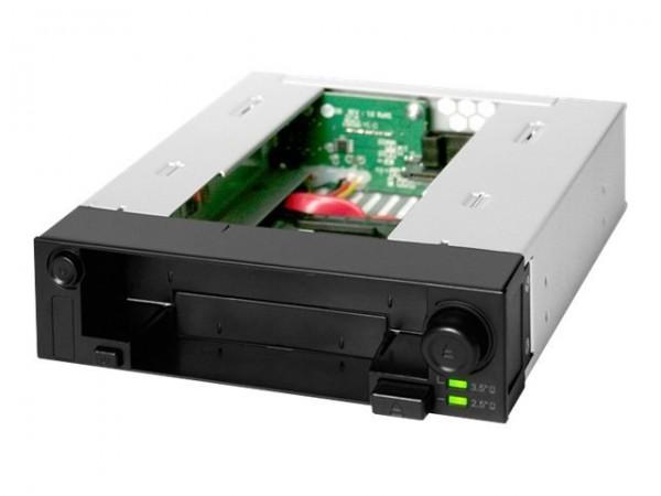 """Icy Dock ICY Dock DuoSwap MB971SP-B - Gehäuse für Speicherlaufwerke - 2.5"""", 3.5"""" (6.4 cm, 8.9 cm)"""