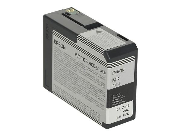 Epson T5808 - 80 ml - mattschwarz - Original