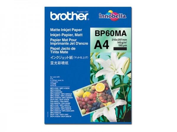 Brother BP 60MA Matte Inkjet Paper - Matt - A4 (210 x 297 mm)