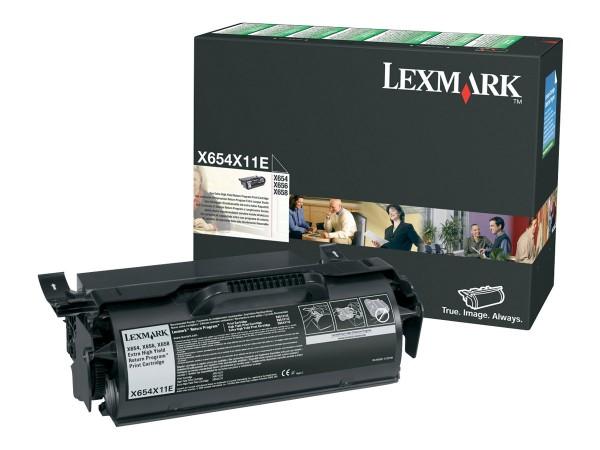 Lexmark Hohe Ergiebigkeit - Schwarz - Original