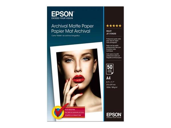 Epson Archival Matte Paper - Matt - A4 (210 x 297 mm)