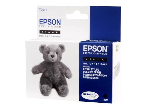 Epson T0611 - 8 ml - Schwarz - Original - Tintenpatrone