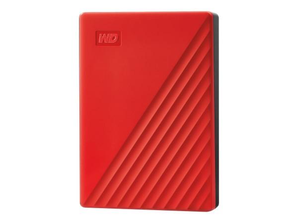 WD My Passport WDBPKJ0040BRD - Festplatte - verschlüsselt - 4 TB - extern (tragbar)
