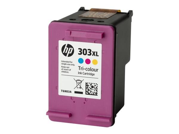HP 303XL - 10 ml - Hohe Ergiebigkeit - farbstoffbasiert dreifarbig