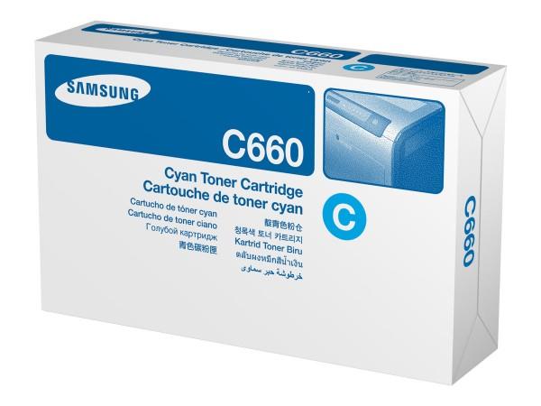 HP Samsung CLP-C660B - Hohe Ergiebigkeit - Cyan - Original - Tonerpatrone (ST885A)
