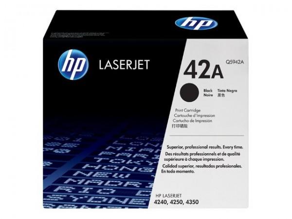 HP 42A - Schwarz - Original - LaserJet - Tonerpatrone (Q5942A)