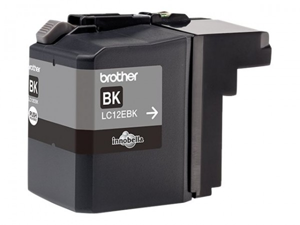 Brother LC-12EBK - XL-Kapazität - Schwarz - Original