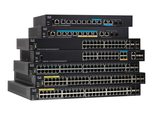 Cisco Small Business SG350X-24MP - Switch - managed - 24 x 10/100/1000 (PoE+)