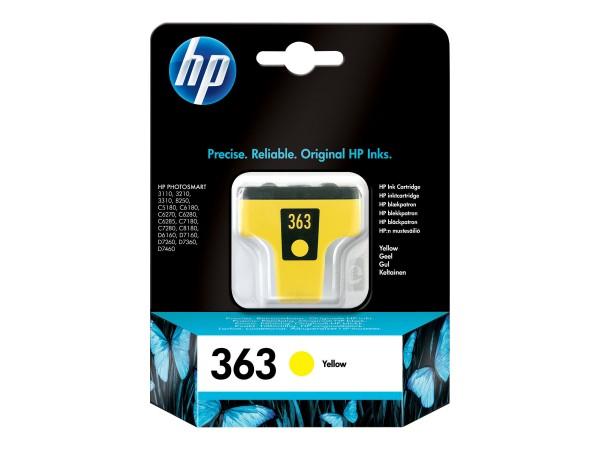 HP 363 Tinte gelb