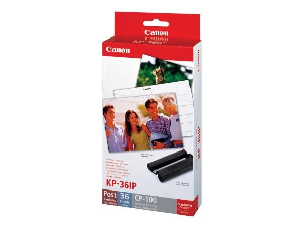 Canon KP-36IP - Druckpatrone / Papiersatz - für SELPHY CP1000