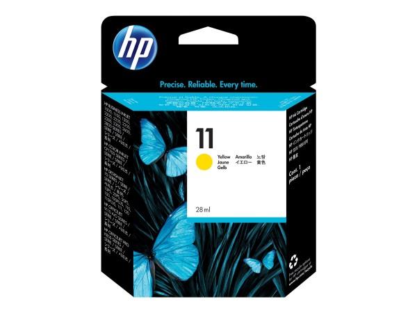 HP 11 - 28 ml - Gelb - Original - Blisterverpackung
