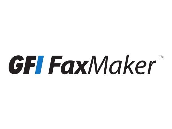 GFI FAXmaker - Abonnement-Lizenz (1 Jahr) - Volumen