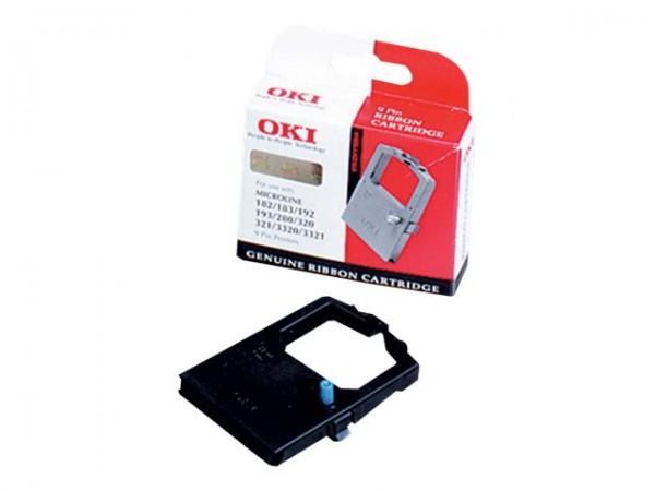 OKI 1 - Schwarz - Farbband - für OKI ML280