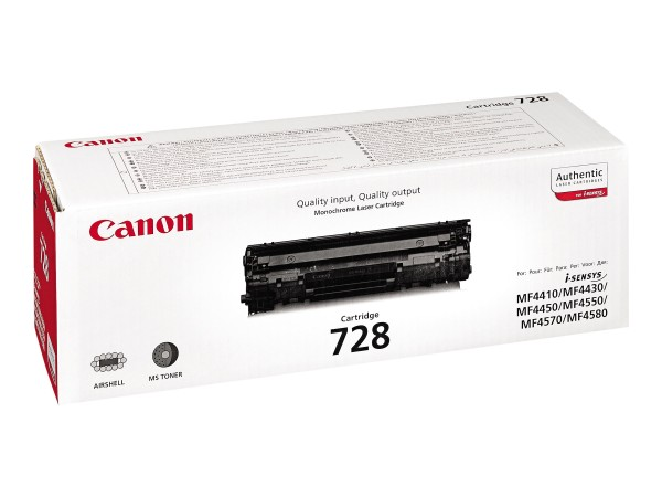 Canon CRG-728 - Schwarz - Original - Tonerpatrone