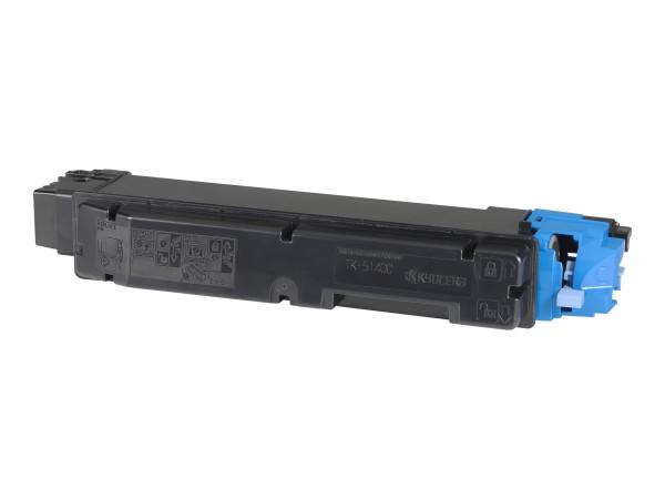 Kyocera TK 5140C - Cyan - Tonersatz - für ECOSYS M6030cdn