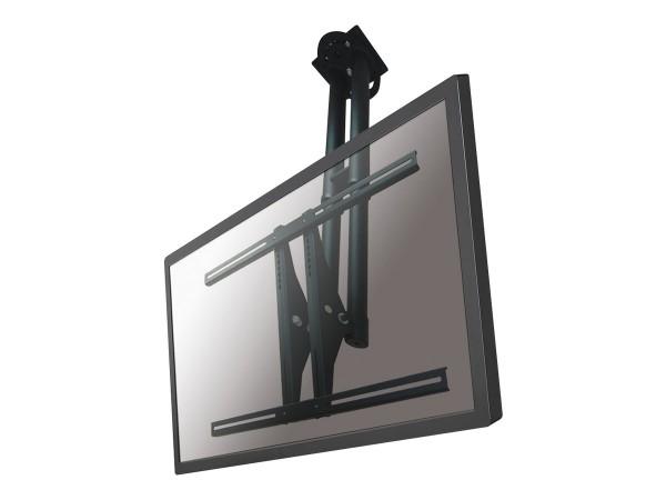 NewStar PLASMA-C100BLACK - Deckenhalterung für LCD-/Plasmafernseher (neig- und schwenkbar)