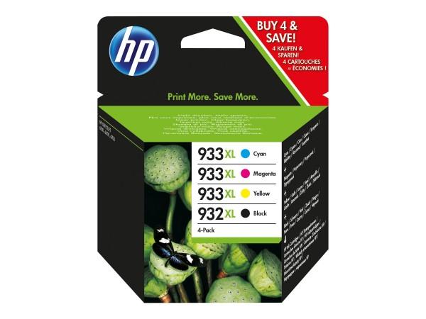 HP 932XL/933XL Combo Pack - 4er-Pack - Hohe Ergiebigkeit