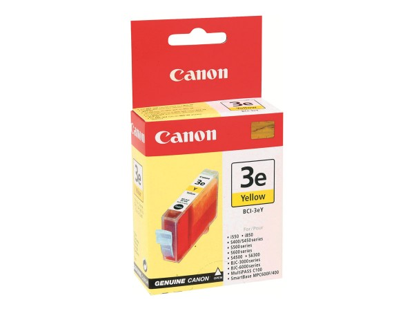 Canon BCI-3EY - 13 ml - Gelb - Original - Tintenbehälter