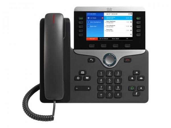 Cisco IP Phone 8851 - VoIP-Telefon - SIP, RTCP, RTP, SRTP, SDP