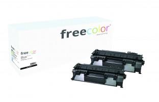 freecolor 505X-2-FRC - 6500 Seiten - Schwarz - 2 Stück(e)