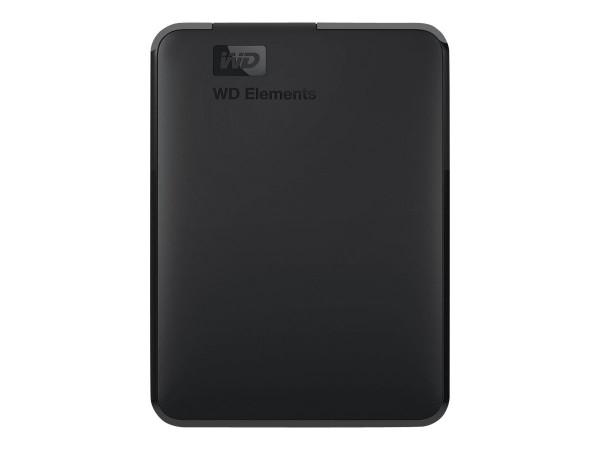 WD Elements Portable WDBU6Y0050BBK - Festplatte - 5 TB - extern (tragbar)